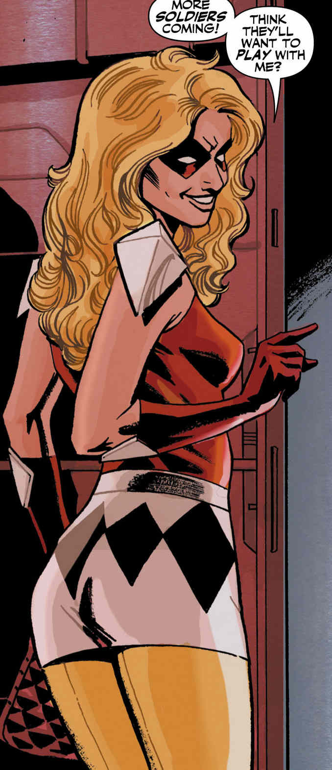 Jewelee Checkmate Charlton Comics