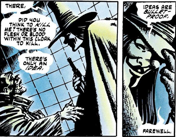 V for Vendetta Alan moore David Lloyd