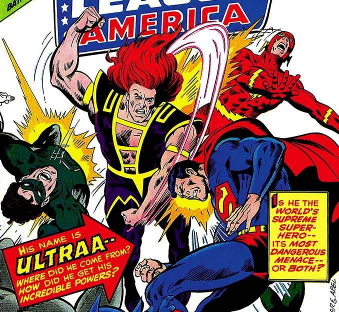 Ultraa Justice League of America 123