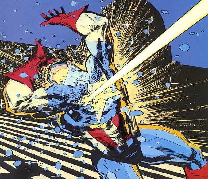 Captain America abattu Klaus Janson