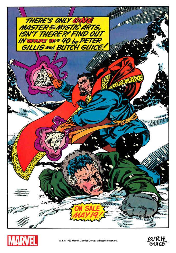 Stephen Strange & Doctor Mordo What If