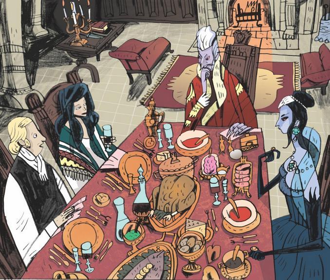 Rencontres Maléfiques La Table des Monstres