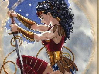 Wonder Woman the true amazon