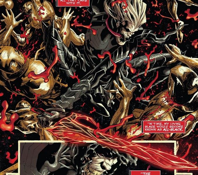 12 épées Marvel Noir