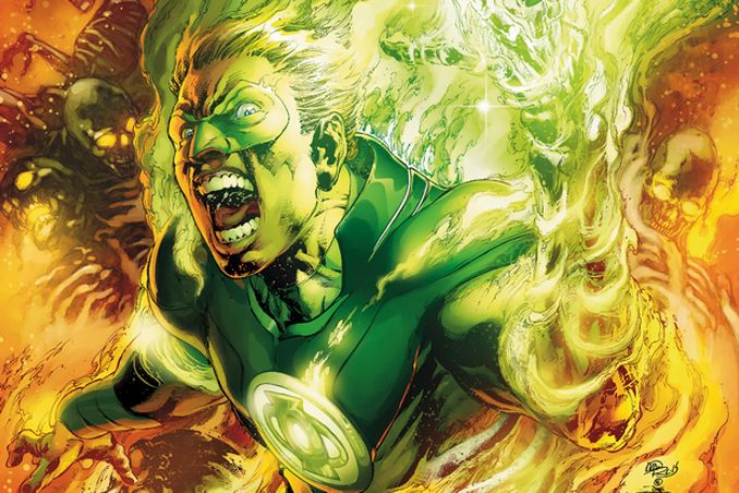 Earth 2 Alan Scott