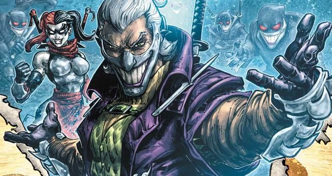 Joker/Shredder Homme qui rit