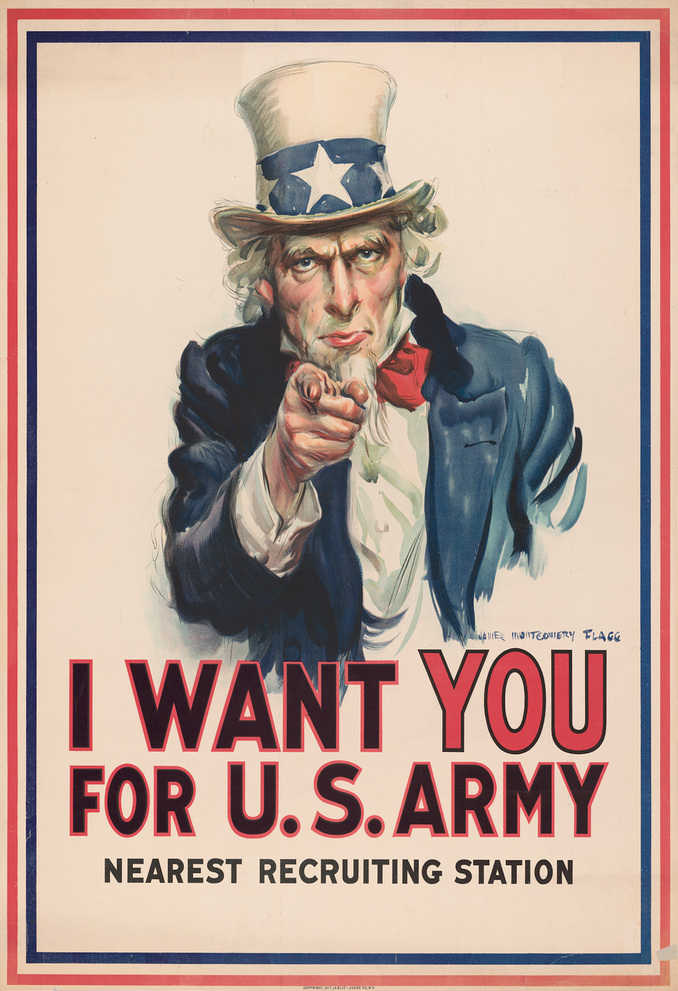 Uncle Sam James Montgomery Flagg