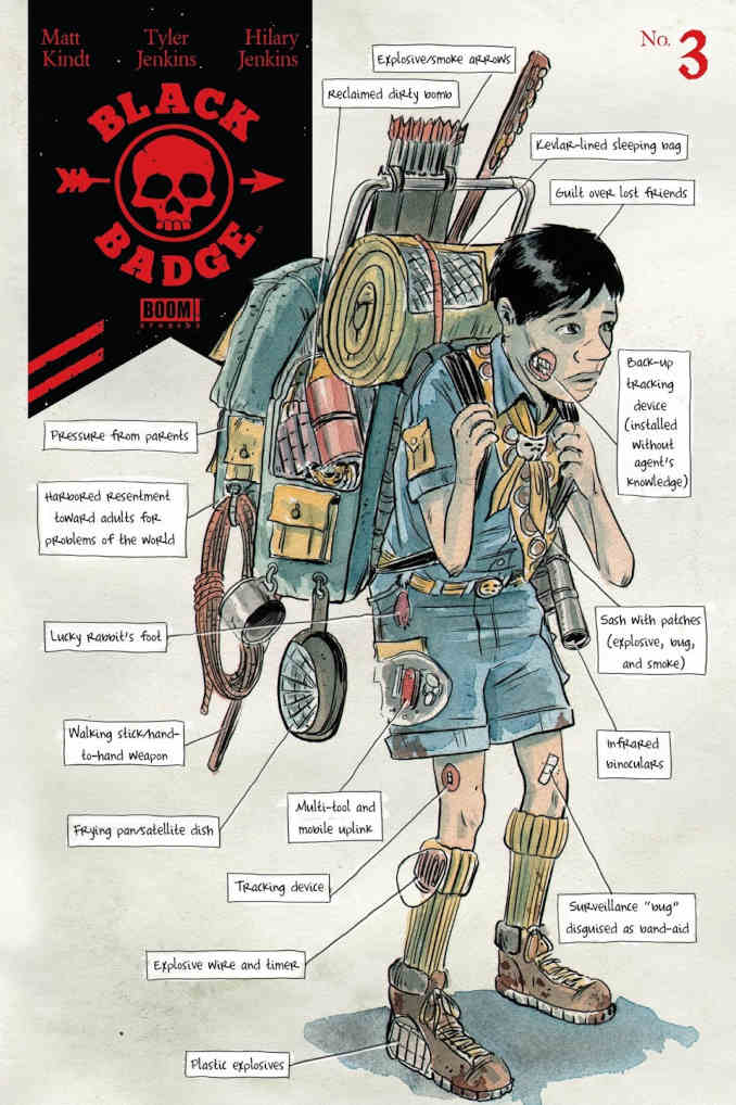 Black Badge Matt Kindt