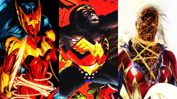 transformations Wonder Woman