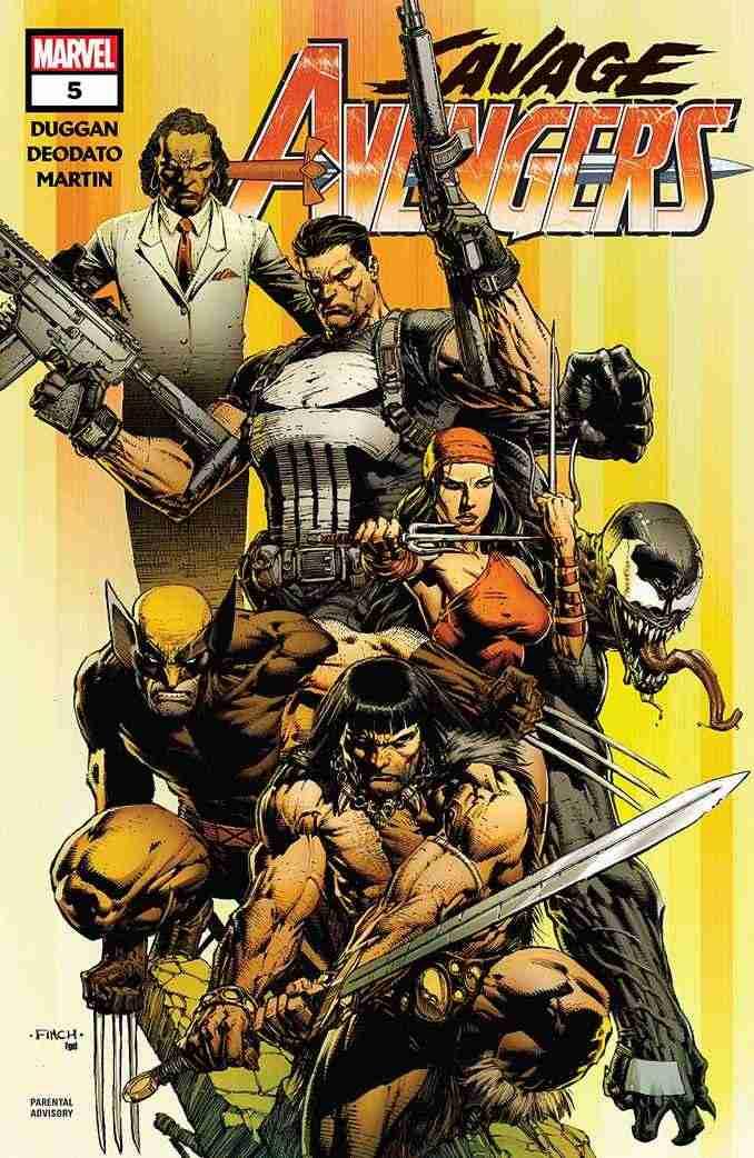 Savage Avengers & Conan
