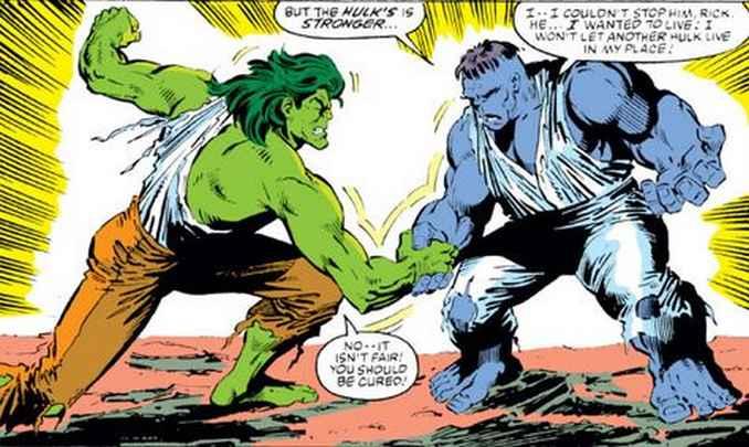 Hulk Jones vs Hulk Banner