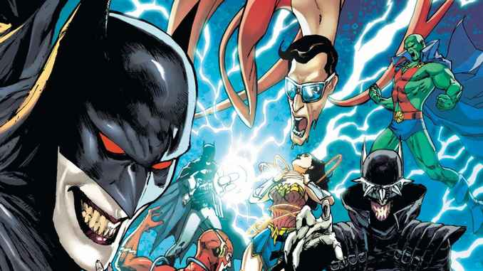 Batman qui rit vs JLA