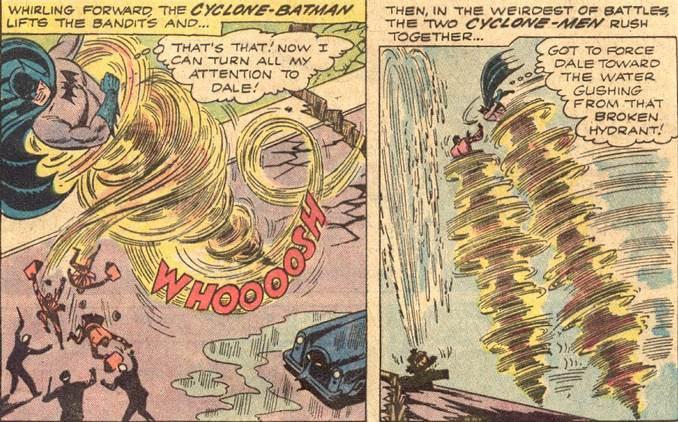 Batman, maître de l'air !