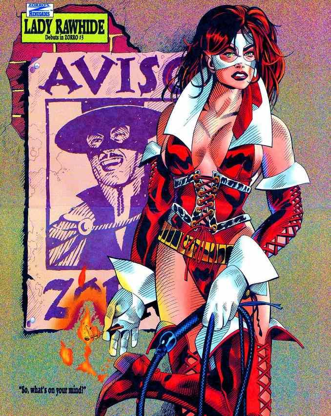 Affiche Lady Rawhide de Zorro n°0