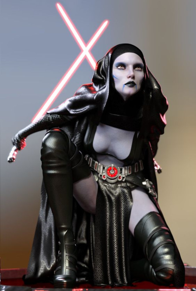 sexy Star Wars asajj ventress