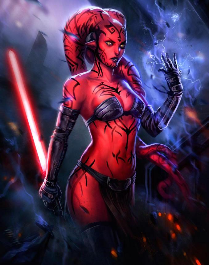 sexy Star Wars darth talon