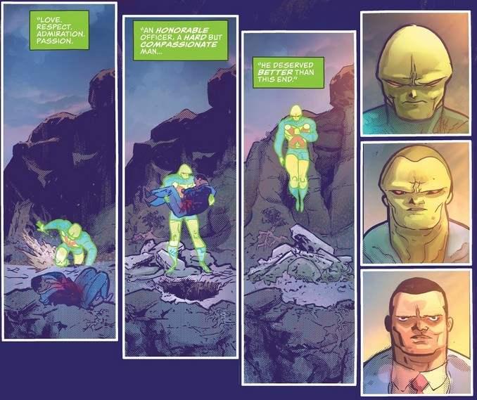Martian Manhunter Identity