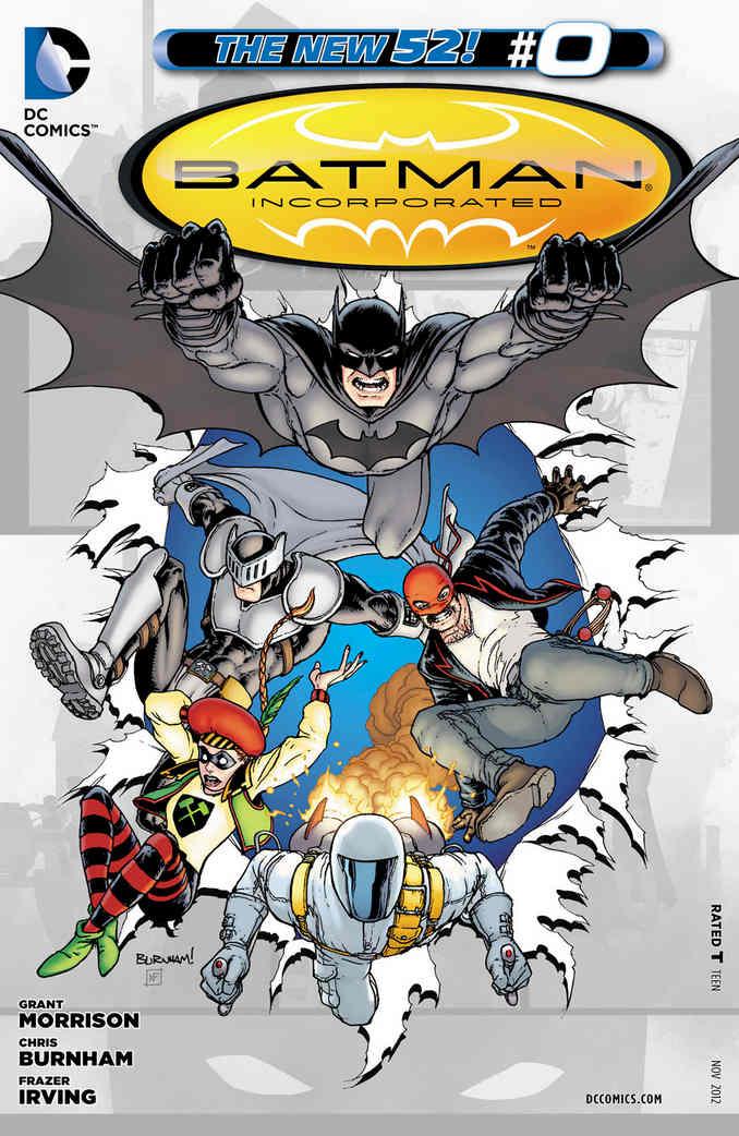 Zero Month Batman Incorporated