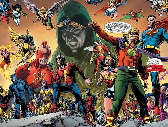 Tales From Dark Multiverse - Crisis On Infinite Earths JSA Assemble