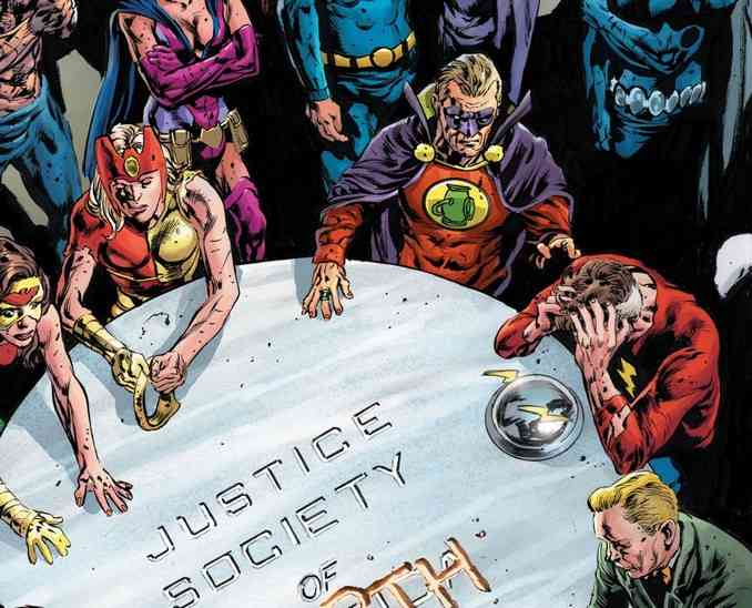 Tales From Dark Multiverse - Crisis On Infinite Earths Table Ronde