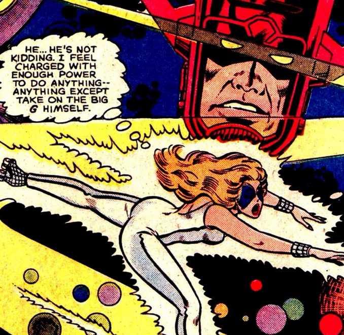 Dazzler Herald of Galactus