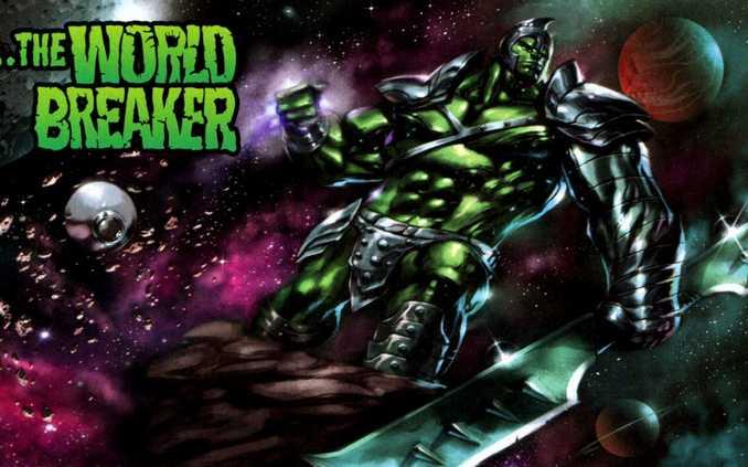 Hulk Herald of Galactus