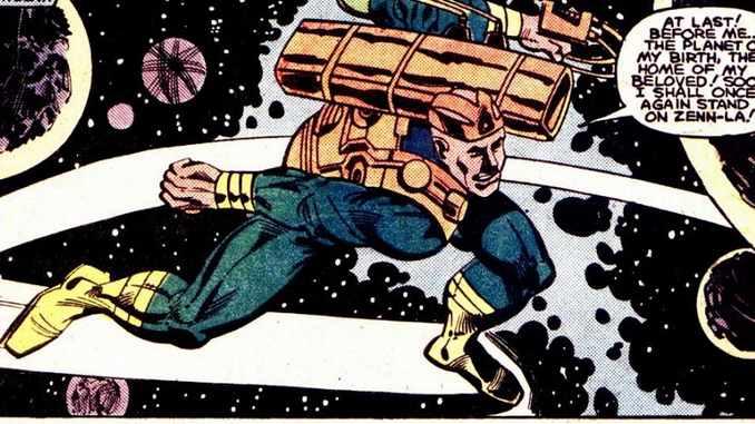 Norrin Radd sentinelle de l'espace