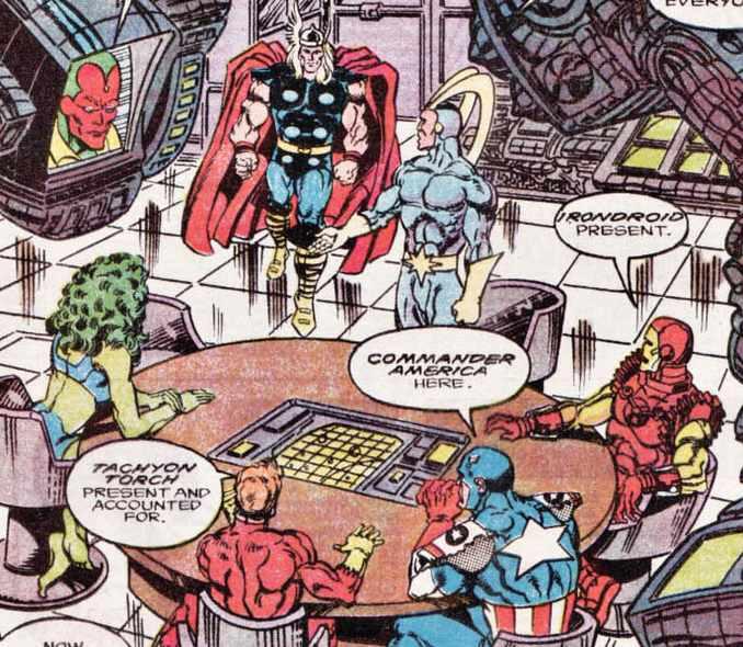Cosmic Avengers Assemble