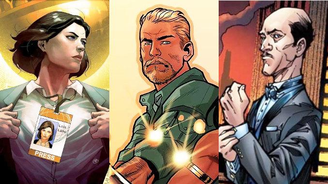 dc comics persos secondaires devenus superheros