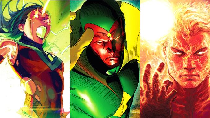 comics vision synthézoïdes