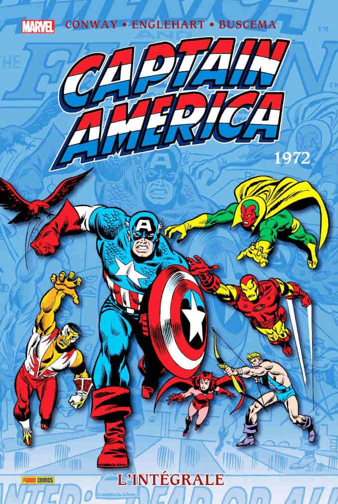 chronologie albums collection comics captain america