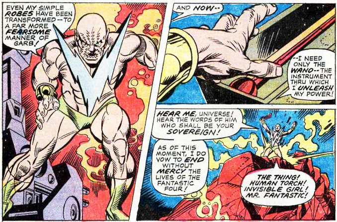 retro comics marvel two in one 1