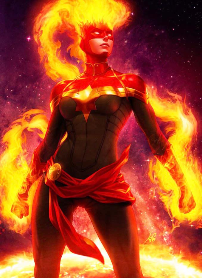 comics superhéros marvel puissants
