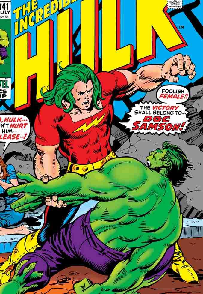 Doc Samson vs Hulk