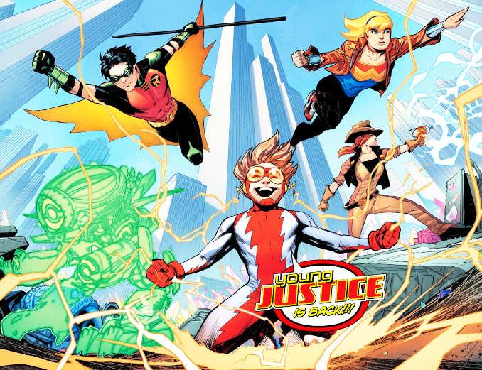 comics Young Justice 1