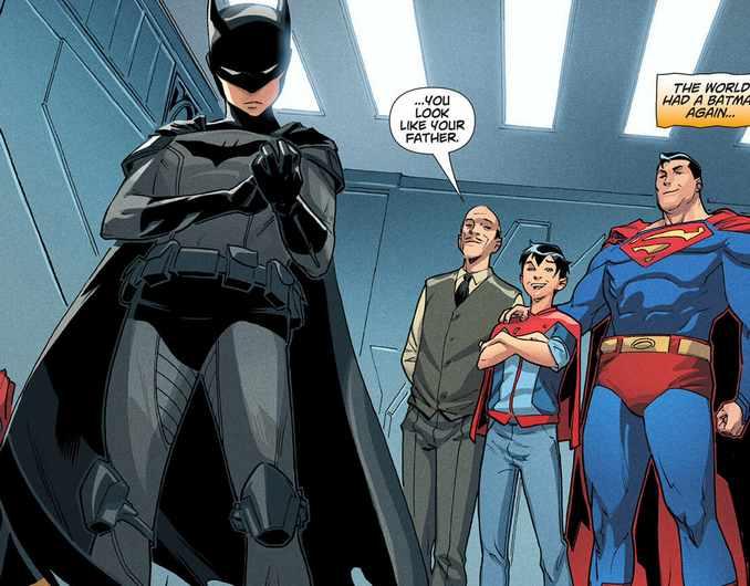 Dceased Damian Wayne/Batman
