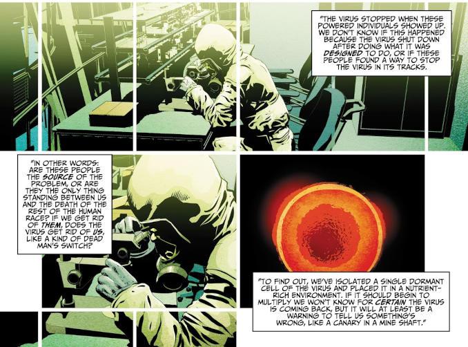 comics The Resistance