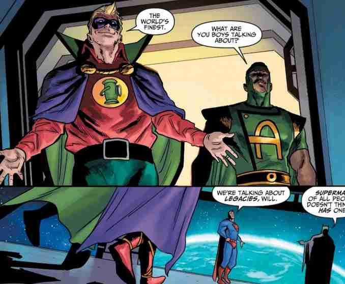 Injustice Année Zéro GL 1 Prodige Superman & Batman