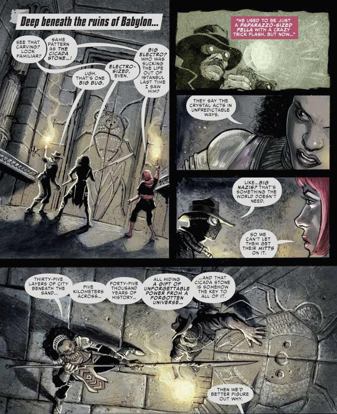 Spider-Man Noir Crépuscule à Babylone