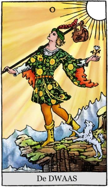 Tarotkaart De Dwaas