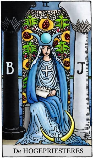 De Hogepriesteres Tarot
