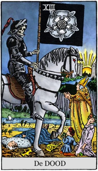 Tarotkaart De Dood