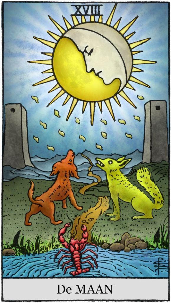 Tarotkaarten de maan