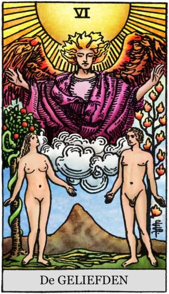 De Geliefden tarotkaarten