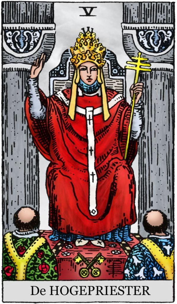 De Hogepriester Tarot