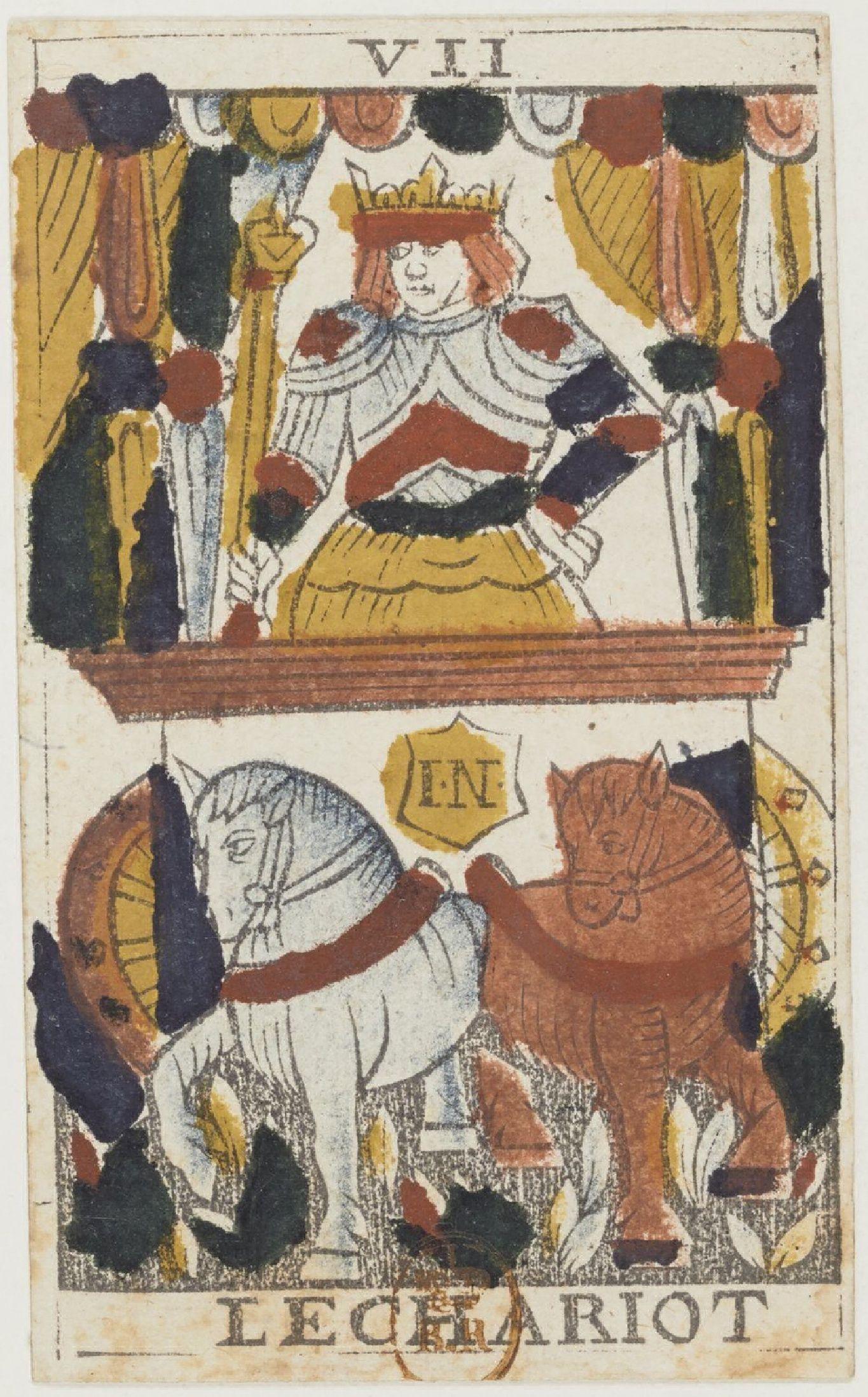 De Zegewagen Tarotkaart