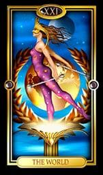The World Tarotcard