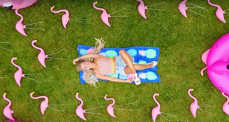 Madeline Merlo Motel Flamingo