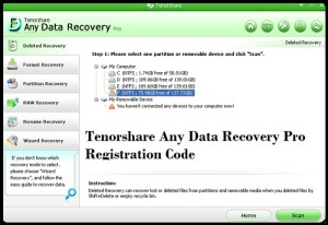 any data recovery registration code