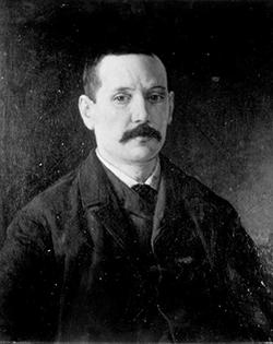 Retrato de Benito Pérez Galdos. Colección del Ateneo de Madrid. BNE, IH/7167a